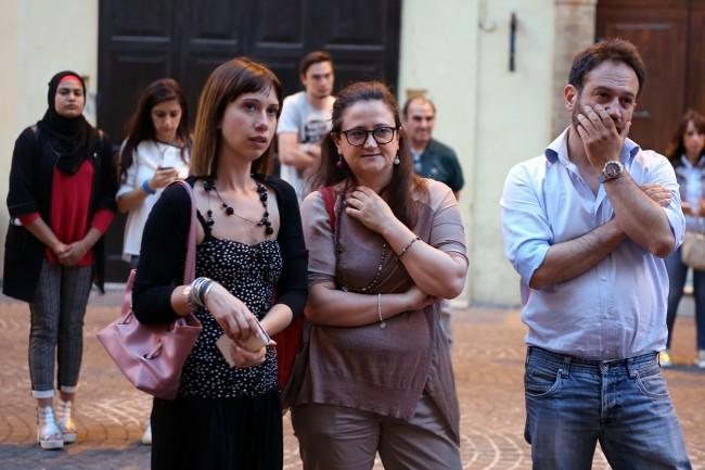 La neo consigliere comunale del Pd Alessia Scoccianti con il vicesindaco uscente Federica Curzi