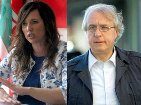 Barbara Cacciolari e Francesco Massi