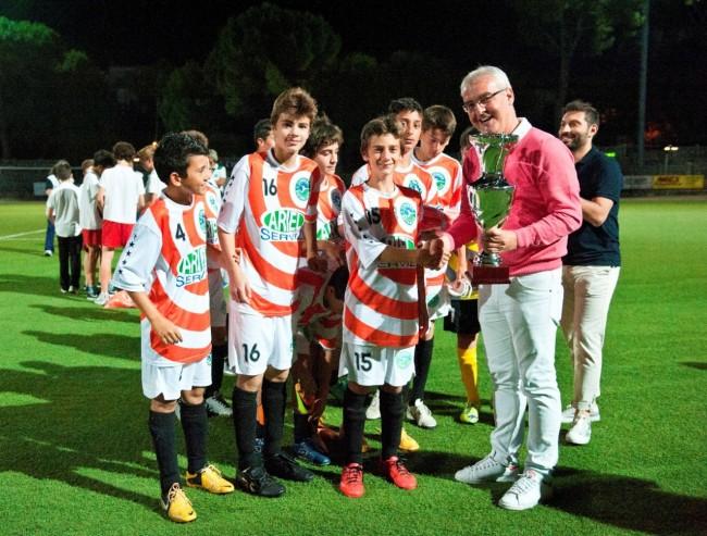 La Conero Dribbling premiata dal sindaco Romano Carancini