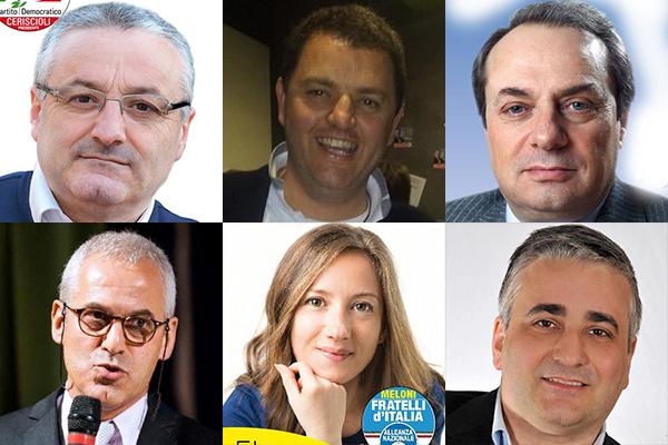 Sono 6 gli eletti per la provincia di Macerata