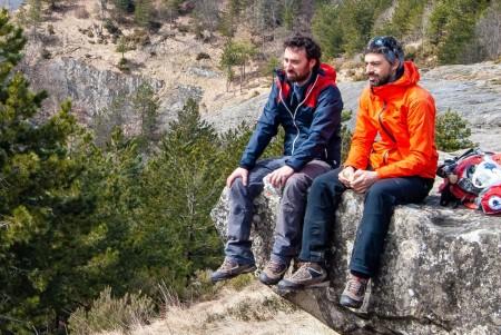 escursionisti alte marche