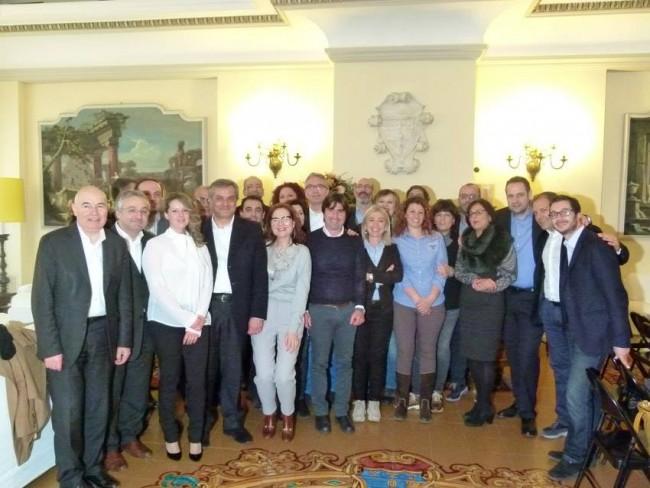 Il gruppo consiliare del Pd in Regione
