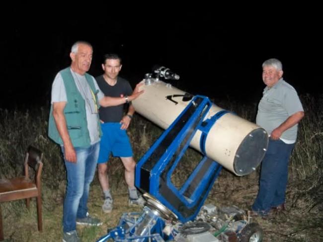 telescopio artigianale 2