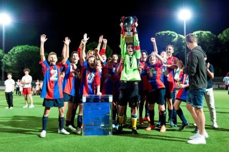 La Vigorina Senigallia trionfa alla 30ma edizione del torneo Nando Cleti