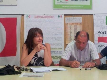 Antonella Cicconi e Silvano Senigagliesi