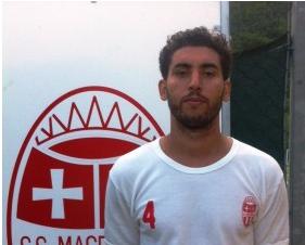 Yassine Belkaid, centrocampista della Maceratese