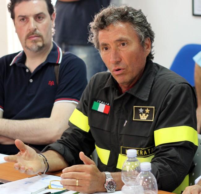 Carlo Iammarino, funzionario dei vigili del fuoco