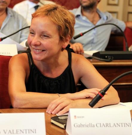 Gabriella Ciarlantini è entrata come secondo consigliere della lista Macerata Bene Comune al fianco di Enzo Valentini