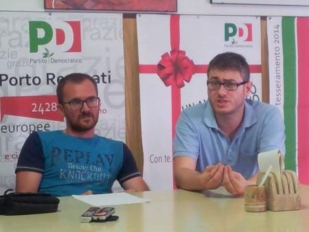 Da sinistra Andrea Dezi e Petro Feliciotti