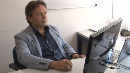 Il geologo Emanuele Tondi