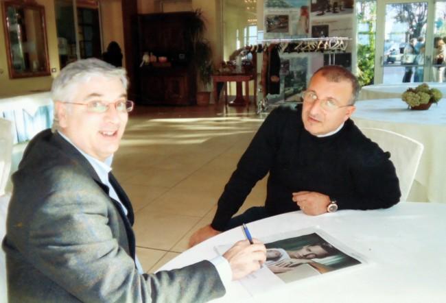 Da sinistra Ermanno Zamponi e il primario del pronto soccorso Marco Esposito scomparso nel 2010
