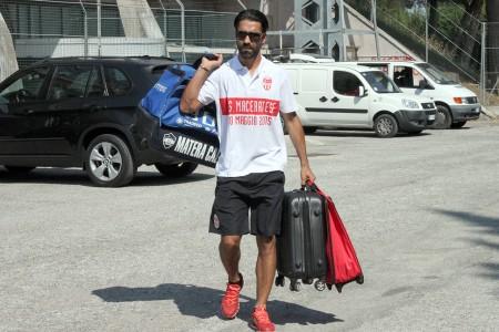 Il difensore portoghese Vasco Faisca