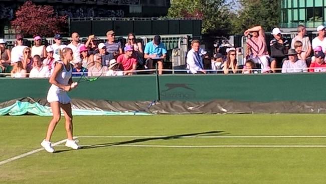 Camila Giorgi brilla a Wimbledon