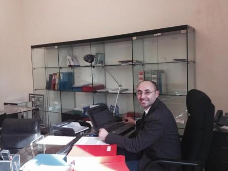 Luca Pierucci, predidente dell'Ordine psicologi Marche