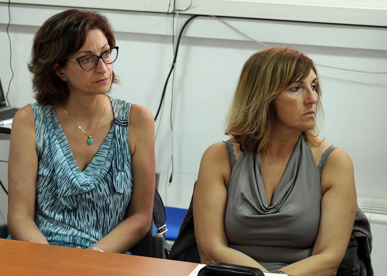 Maria Elena Sacchi_Rosalia Calcagnini vicepresidente Cosmari_Foto LB
