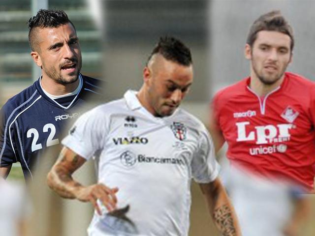 Matteo Di Piazza, Giovanni Giuffrida e Fabio Foglia