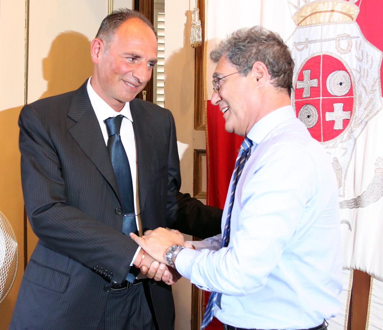 Luciano Pantanetti con Bruno Mandrelli