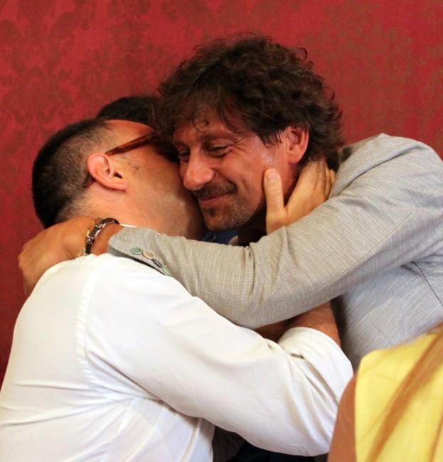 Riccardo Sacchi e Francesco Luciani