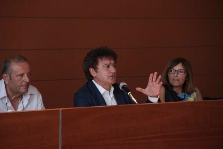 Il presidente Graziano Ciurlanti durante l'assemblea