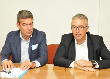 Il direttore Asur Alessandro Marini e il governatore Luca Ceriscioli
