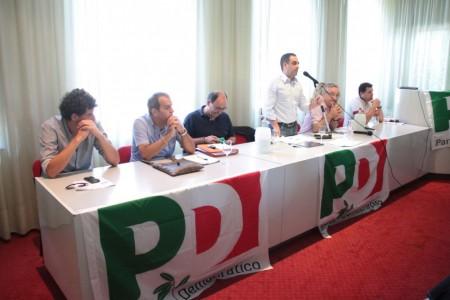 conferenza PD all'hotel grassetti elezione segretario foto ap 8