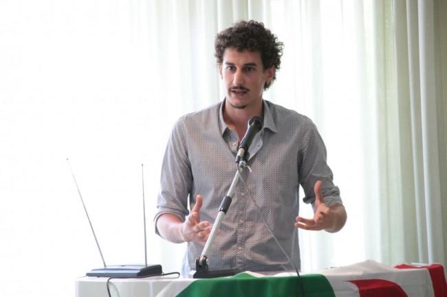 conferenza PD all'hotel grassetti elezione segretario lorenzo montesi foto ap 36
