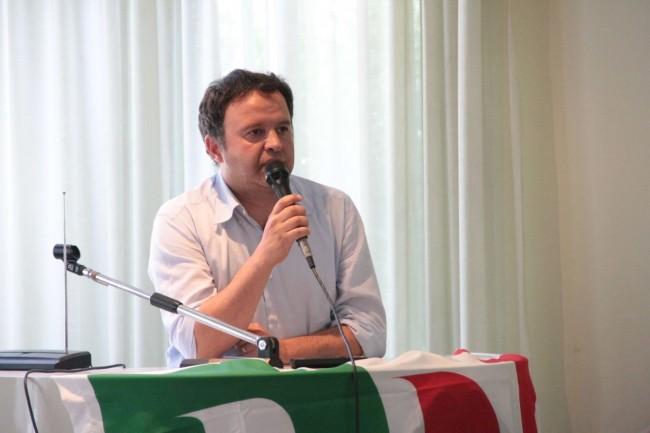conferenza PD all'hotel grassetti elezione segretario marinelli foto ap 19