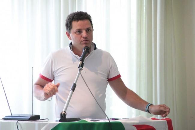 conferenza PD all'hotel grassetti elezione segretario micucci foto ap 35