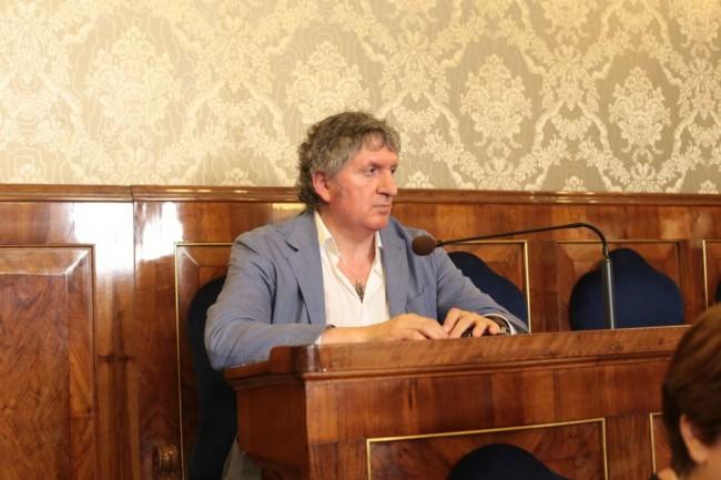Il sindaco di Tolentino, Giuseppe Pezzanesi