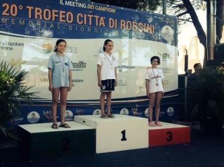 Aurora Pascucci, medaglia di bronzonei 100 dorso