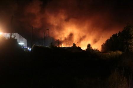 L'incendio al Cosmari
