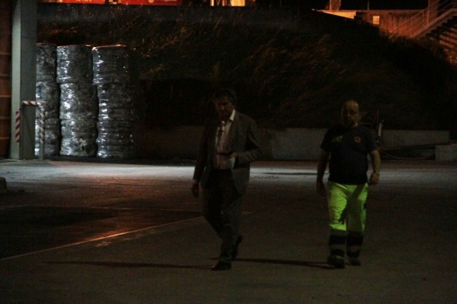 L'arrivo del sindaco Pezzanesi