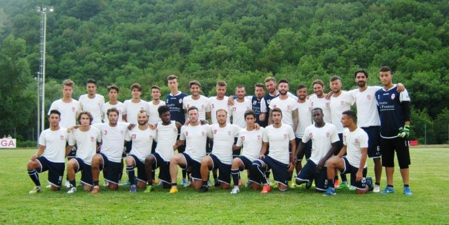 maceratese calcio squadra al completo