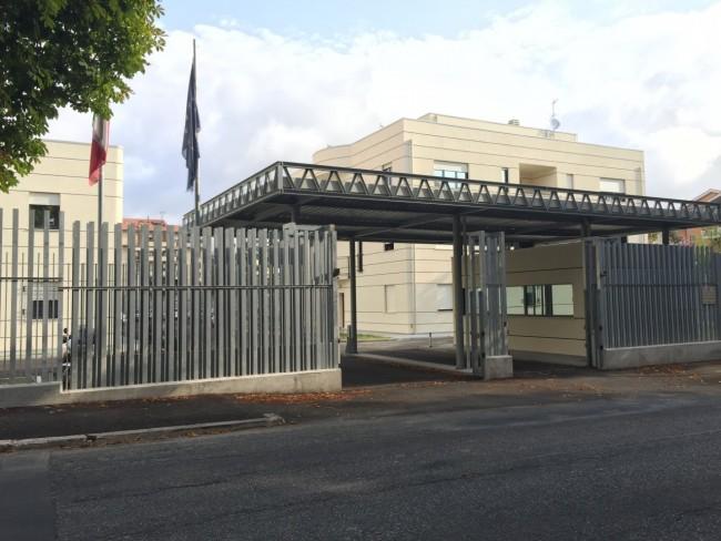 La nuova sede della guardia di finanza