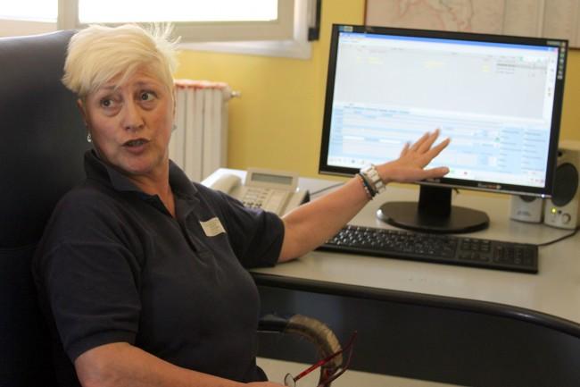 Lucia Silvi, referente di centrale del 118. Da 18 anni gestisce le emergenze nella nostra provincia