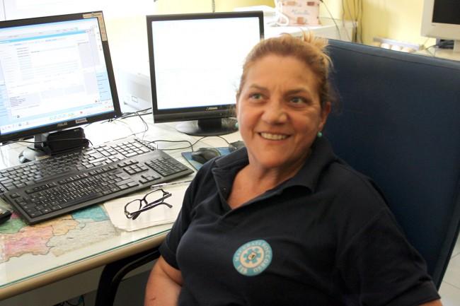 Ornella_Macrillò, operatrice radio alla centrale del 118