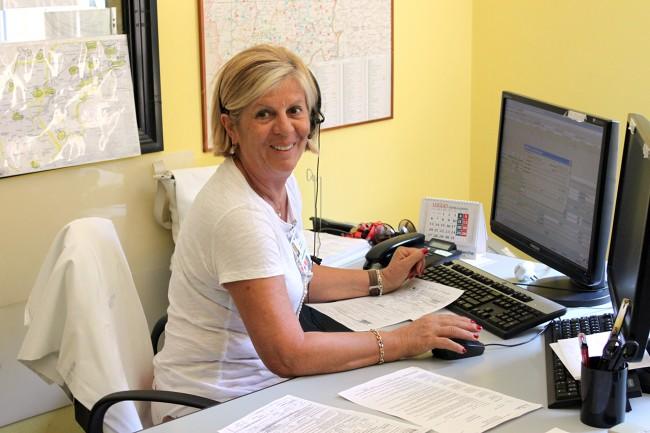 Silvana Battistelli, operatrice del 118 per il trasporto ordinario