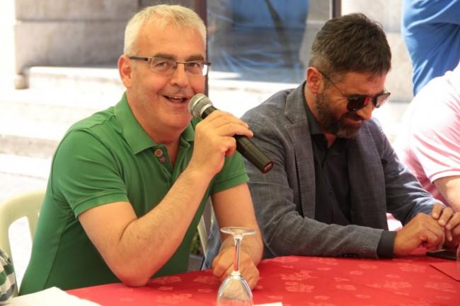 Il sindaco di Macerata Romano Carancini