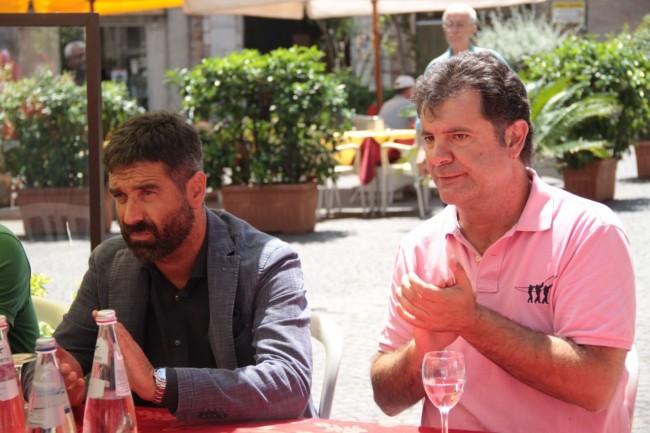 presentazione nuovo allenatore Maceratese Bucchi foto ap 12