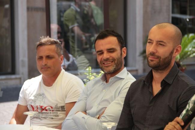 presentazione nuovo allenatore Maceratese Bucchi foto ap 13