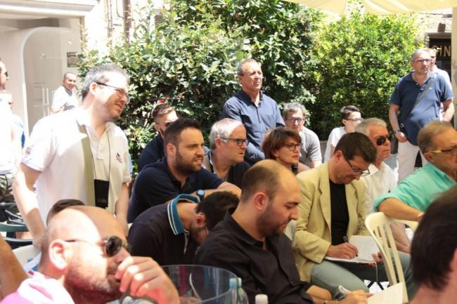 presentazione nuovo allenatore Maceratese Bucchi foto ap 14