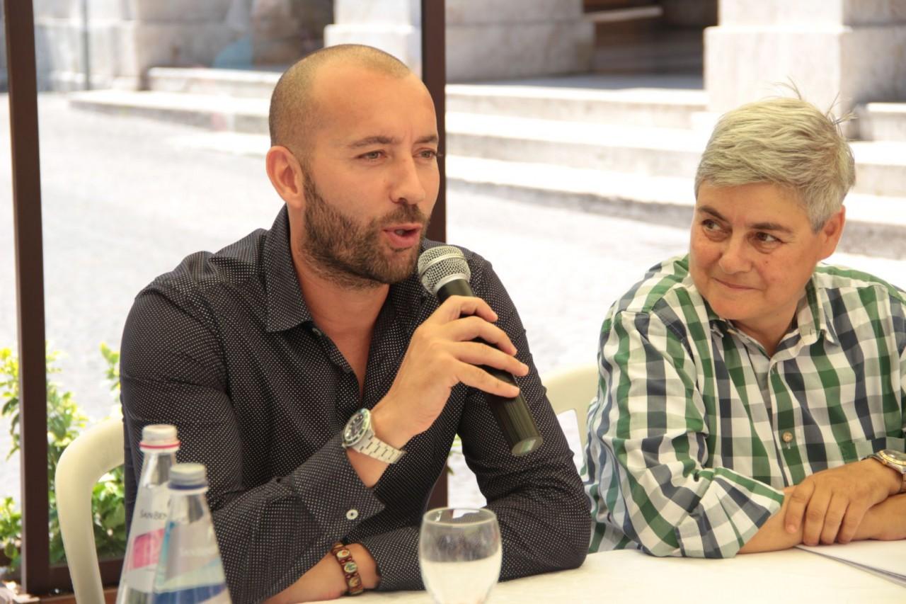 Il nuovo allenatore della Maceratese Cristian Bucchi
