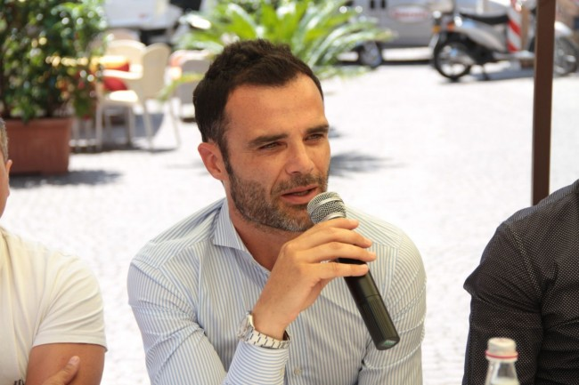 presentazione nuovo allenatore Maceratese Bucchi foto ap 20