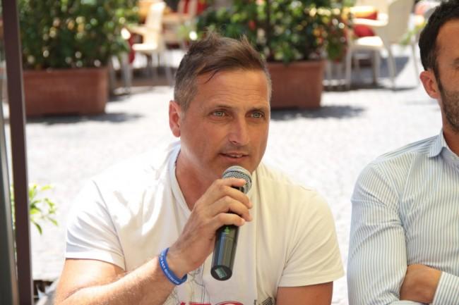 presentazione nuovo allenatore Maceratese Bucchi foto ap 21