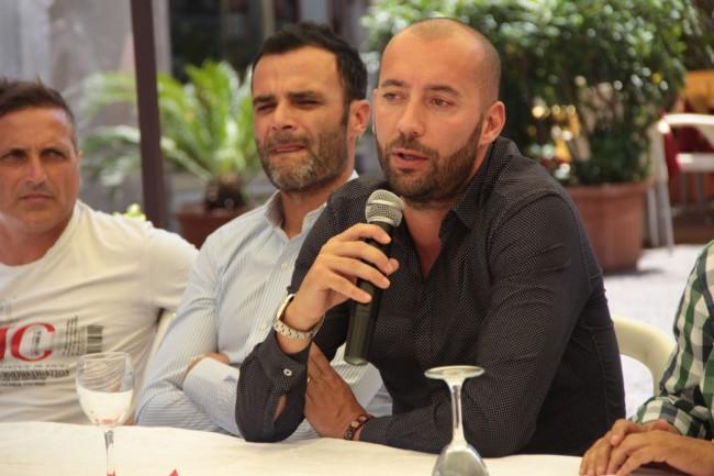 presentazione nuovo allenatore Maceratese Bucchi foto ap 23