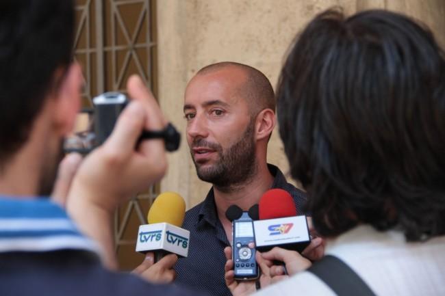 presentazione nuovo allenatore Maceratese Bucchi foto ap 24