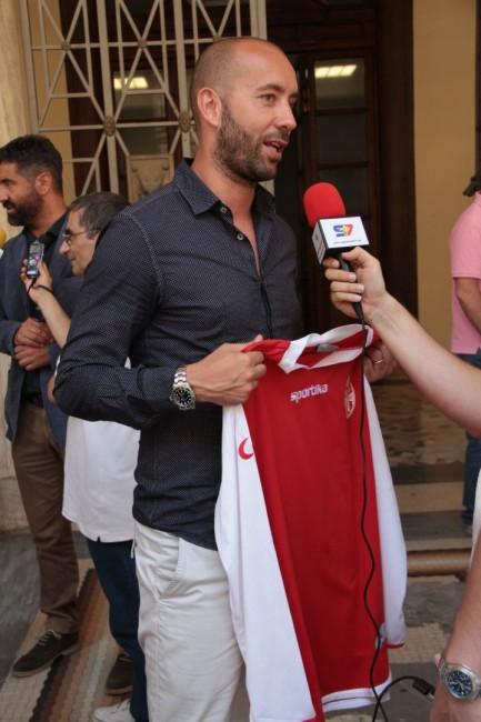 presentazione nuovo allenatore Maceratese Bucchi foto ap 25