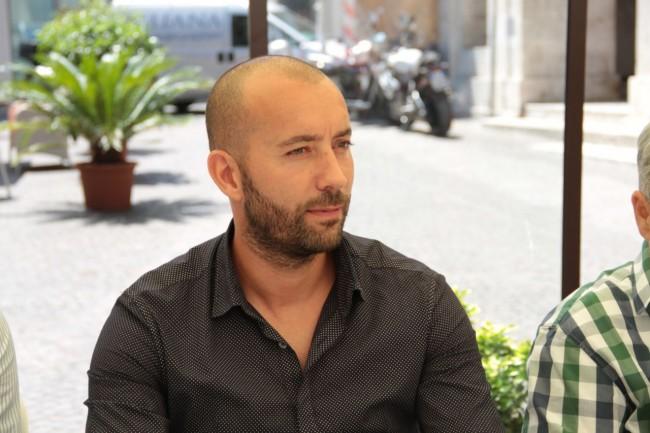 presentazione nuovo allenatore Maceratese Bucchi foto ap 5