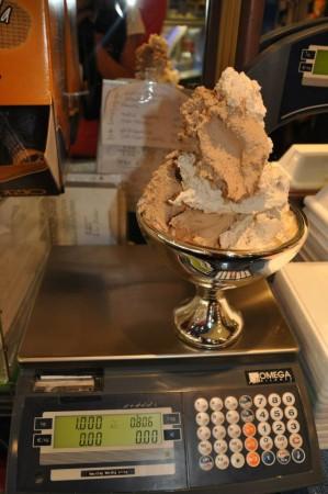 un chilo di gelato