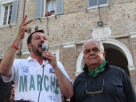 Sandro Zaffiri con Matteo Slavini a Senigallia